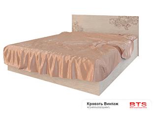 Кровать BTS Винтаж 160 с настилом, без матраса