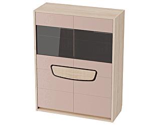 Шкаф-витрина МебельГрад Хортен 2-дверный