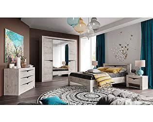 Купить спальню МебельГрад Соренто компоновка 1 Дуб бонифаций