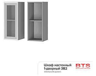 Шкаф настенный BTS Прованс 2, арт. 3В2 1-дверный со стеклом