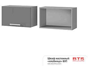 Шкаф настенный BTS Прованс 2, арт. 6Х1 хлебница