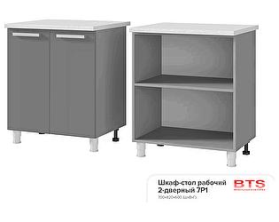 Шкаф-стол BTS Прованс 7Р1 рабочий 2-дверный