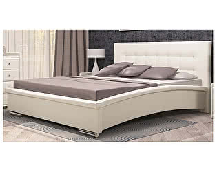 Кровать Арника Луиза 04 (160х200) с основанием 160 ножка 185 мм-5 шт, без матраса
