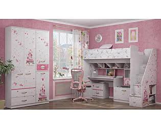 Детская комната Ижмебель Принцесса Компоновка 1