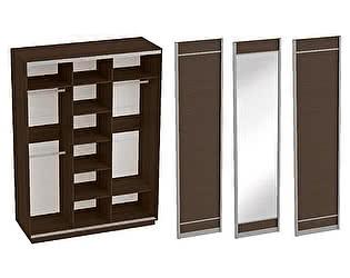 Купить шкаф МебельГрад Навара 3х дверный с зеркалом
