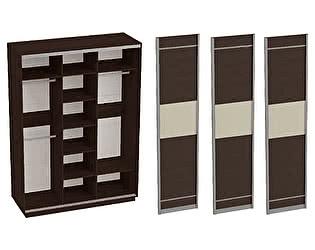 Купить шкаф МебельГрад Навара 3х дверный