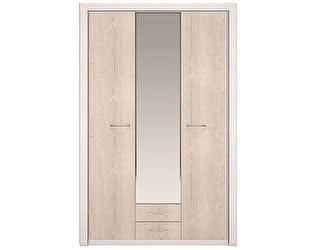 Шкаф для одежды 3-х дверный, с зеркалом Арника Мальта 6