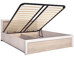 Кровать двойная Арника Мальта 7 1400 с ПМ (КОМПЛ-2), без матраса