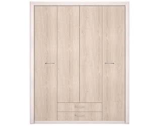Шкаф Арника Мальта 11 для одежды 4-х дверный, без зеркал
