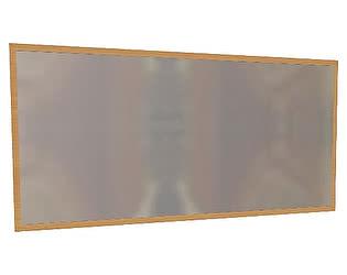 Зеркало навесное Глазов Комфорт, мод. 24