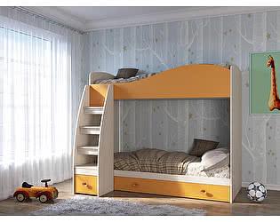 Кровать Кентавр 2000 Элион 80/190 см 2-ярусная