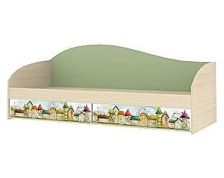 Кровать одинарная Ижмебель Браво (80) с основанием, мод.6