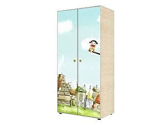 Шкаф Ижмебель Браво 02 для одежды двухдверный