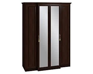 Шкаф для одежды и белья 1 с карнизом Montpellier Глазов, орех шоколадный