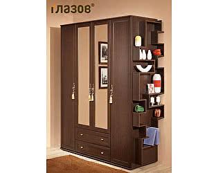 Шкаф для одежды и белья 1 Ижмебель Милана без стеллажа