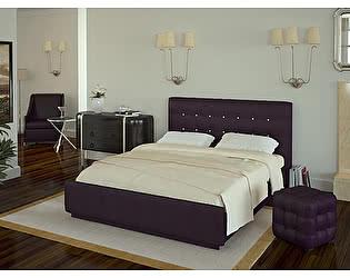 Кровать Арникка Лорена 180х200 (без страз) + основание 180 ножка 185 мм-5шт