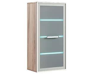 Шкаф  МСТ Кристалл модель 4 навесной с подсветкой