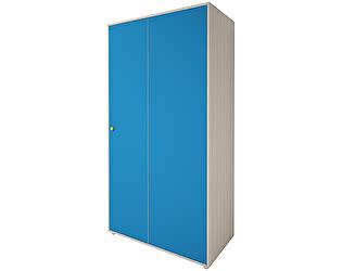 Шкаф угловой для одежды Ижмебель Браво, мод.15 (синий)
