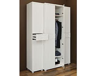 Шкафы Ирис: 11 шкаф для одежды 2х дверный + 04 шкаф-пенал комбинированный 2 шт