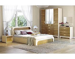 Спальня Ижмебель Терра-Люкс вариант компоновки