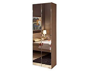 Шкаф для одежды Глазов Bauhaus (2 фасада зеркало)