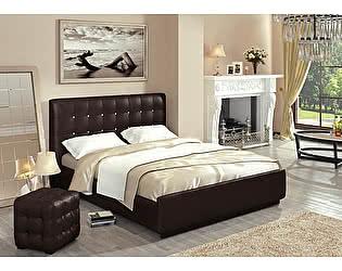Кровать Арника Лорена 140х200 (без страз) + основание 140 ножка 185 мм-5ш