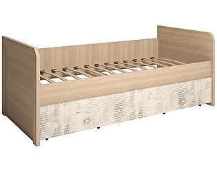 Купить кровать Ижмебель Ультра 12 одинарная с ящиком на 900