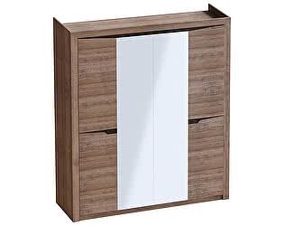 Купить шкаф МебельГрад Соренто 4 дверный Дуб Стирглинг