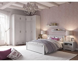 Спальня Прованс. Вариант компоновки