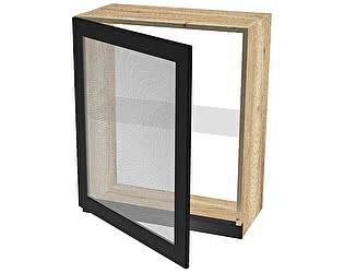 Купить шкаф СБК Сити ШСТ-60 навесной со стеклом