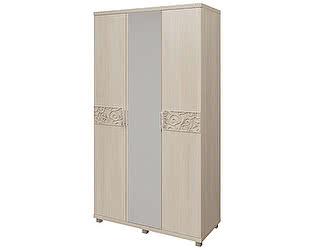 Шкаф для платья и белья 3х дверный Арника Ирис, мод. 09