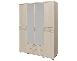 Шкаф для одежды 4х дверный Арника Ирис, мод. 06