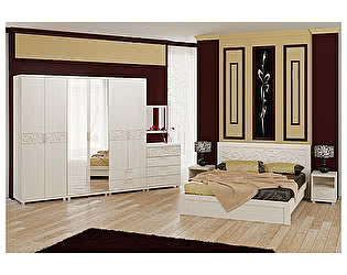 Спальня Арника Ирис, комплектация 4