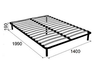 Основание Ижмебель 140х200 см