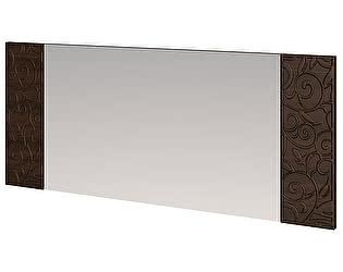 Зеркало настенное со вставками Арника Ирис дуб тортона, арт. 18