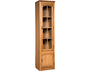 Шкаф с витриной Бобруйскмебель Элбург, БМ-1757
