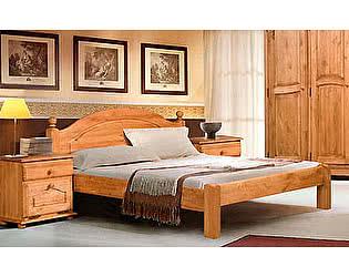 Кровать Бобруйскмебель Лотос с заглушкой  без ножной спинки (140), Б-1090-08