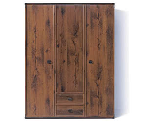 Шкаф платяной BRW Индиана JSZF3d2s