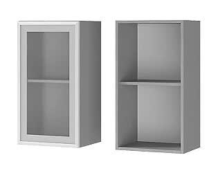 Шкаф BTS Лаванда, Мелисса, Имбирь, Карри настенный 1-дверный со стеклом 4В2