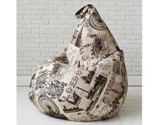 Кресло груша Декор Базар Лондон, XXL