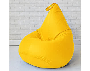 Кресло груша Декор Базар БинБег, XXL (желтый)