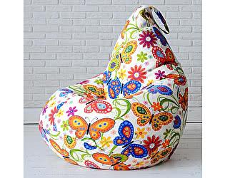 Купить кресло Декор Базар груша Бабочки, XXL