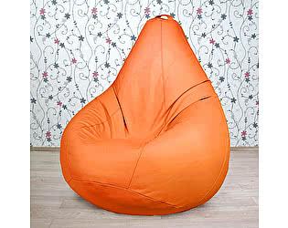 Большое кресло мешок Декор Базар Otto экокожа (манго)