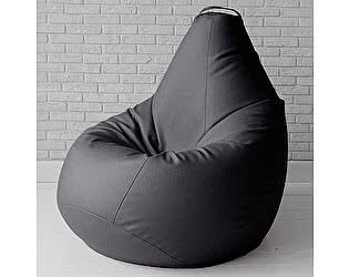 Большое кресло мешок Декор Базар Otto экокожа (черный)