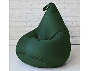 Кресло груша Декор Базар БинБег, XXL (зеленый)