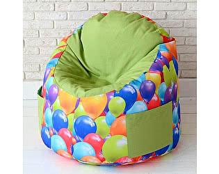 Пуфик в детскую Декор Базар Воздушные шарики салатовый