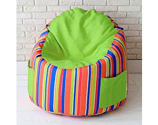 Купить пуф Декор Базар в детскую Арлекин green