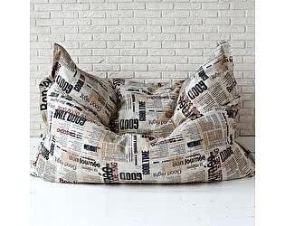 Большая подушка Декор Базар Газета