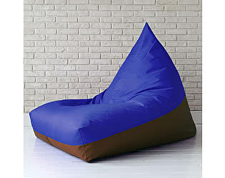 Купить кресло Декор Базар мешок пирамида BLUE