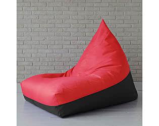 Кресло мешок пирамида Декор Базар RED&BLACK